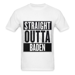 Straight Outta Baden - Men's T-Shirt