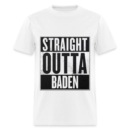 Straight Outta Baden - Men's T-Shirt