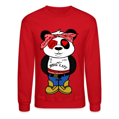 2PAC PANDA - Crewneck Sweatshirt