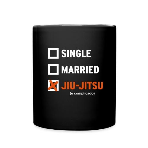 Single, Married, Jiu Jitsu Mug - Full Color Mug