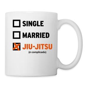 Single, Married, Jiu Jitsu (Mug) - Coffee/Tea Mug