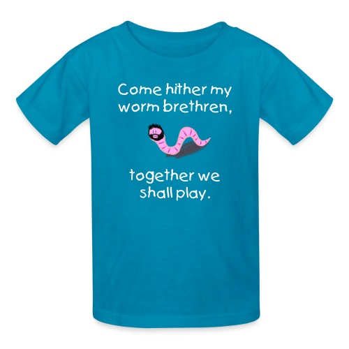 Kid's Jake the Worm T-Shirt - Kids' T-Shirt