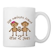 2nd Anniversary funny gift mug  sc 1 st  Spreadshirt & Homewise Shopper | 2nd Anniversary funny gift mug - CoffeeTea Mug