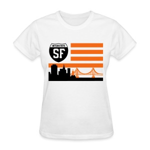 SF flag - Women's T-Shirt