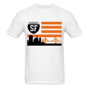 SF flag - Men's T-Shirt