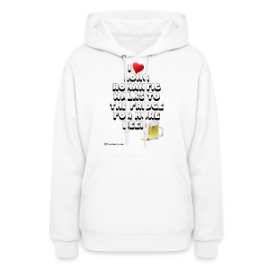 I Love Romantic Walks To The Fridge Women's Hoodie - Women's Hoodie