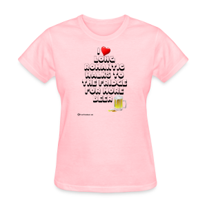 I Love Romantic Walks To The Fridge Women's T-Shirt - Women's T-Shirt