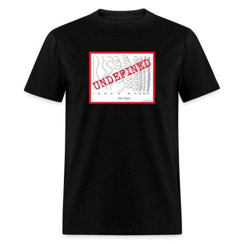 Men's Curl Type- UNDEFINED - Men's T-Shirt