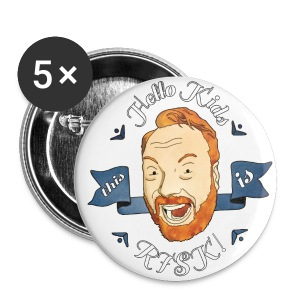 RISK! Small Buttons (5-Pack) - Small Buttons