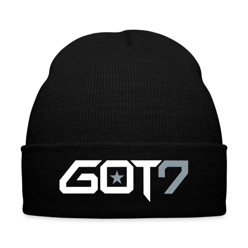 Got7 Logo - Knit Cap with Cuff Print