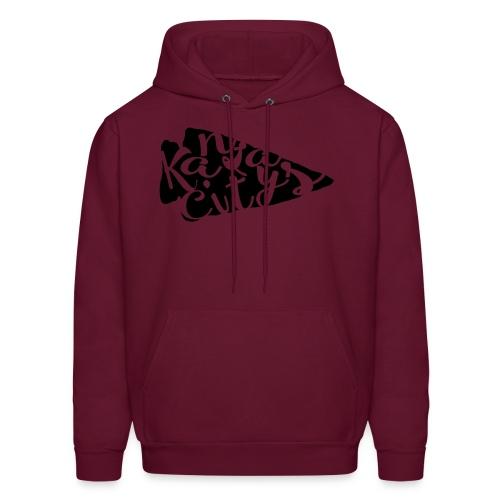 burgundy mens hoodie - Men's Hoodie