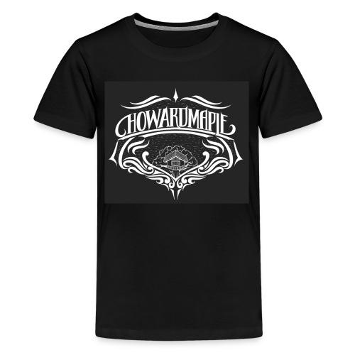 Maple T-shirt / Black - Kids' Premium T-Shirt