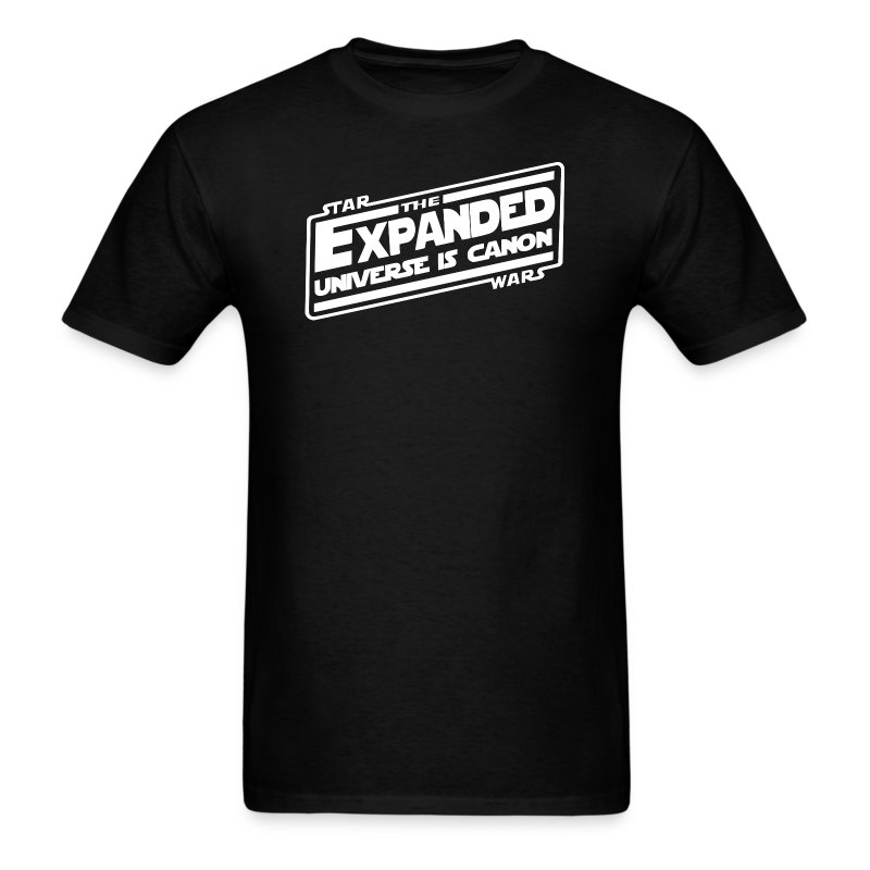 The Expanded Universe Strikes Back - Men's T-Shirt