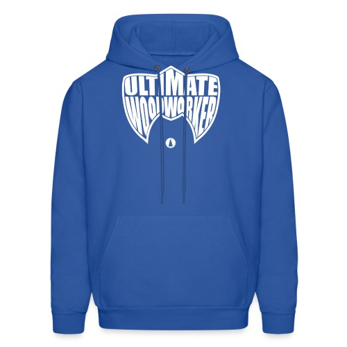 Ultimate Woodworker (white) - Men's Hoodie