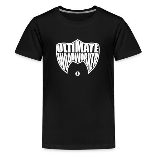 KIDS Ultimate Woodworker (white) - Kids' Premium T-Shirt