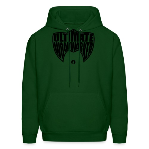 Ultimate Woodworker (black) - Men's Hoodie