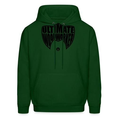 Ultimate Woodworker (black) - Men's Hoodie