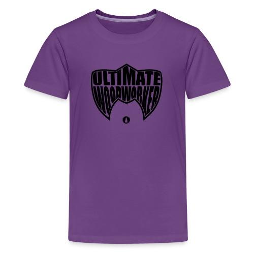 KIDS Ultimate Woodworker (black) - Kids' Premium T-Shirt