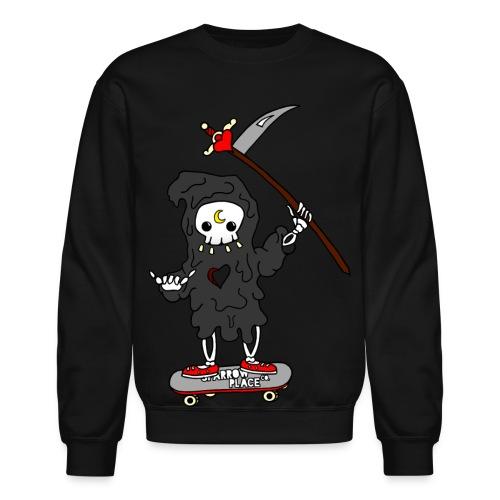 Death Sucks Crewneck - Crewneck Sweatshirt