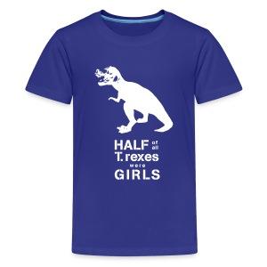 T. rex Kids' Tee - Kids' Premium T-Shirt