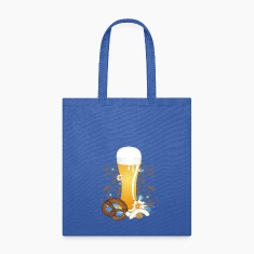 Wheat beer with snack Bags & backpacks