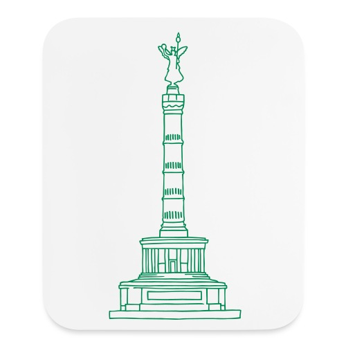 Berlin Victory Column - Mouse pad Vertical
