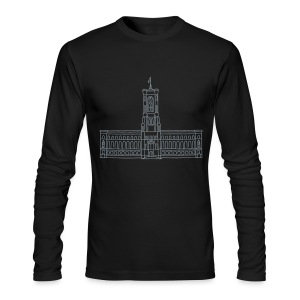 Red City Hall Berlin - Men's Long Sleeve T-Shirt by Next Level