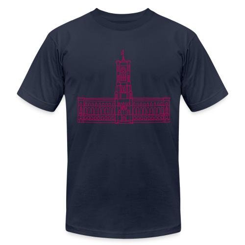 Red City Hall Berlin - Men's Fine Jersey T-Shirt