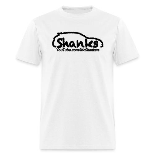 ShankSquad Regular Tee - WHITE/LIGHT - Men's T-Shirt