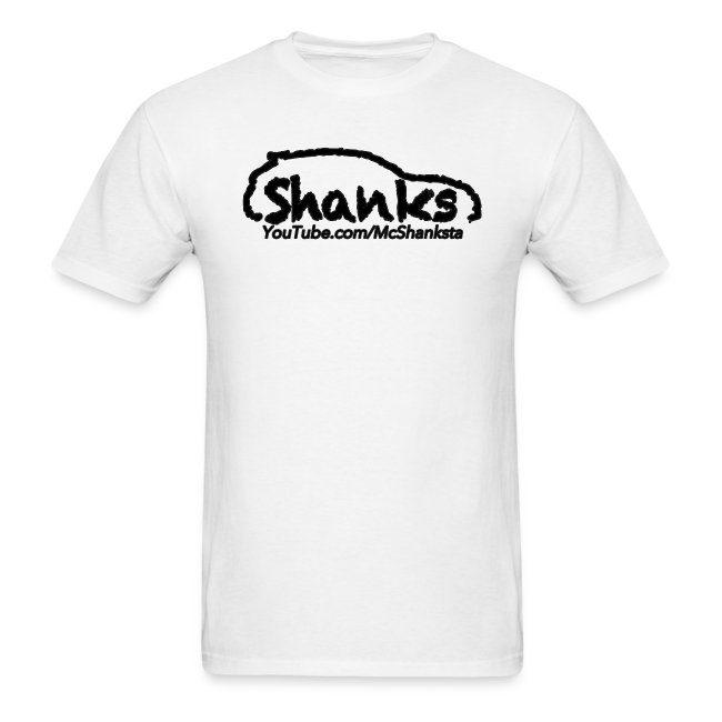 ShankSquad Regular Tee - WHITE/LIGHT