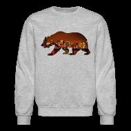 Long Sleeve Shirts ~ Crewneck Sweatshirt ~ Windy City Bear Skyline