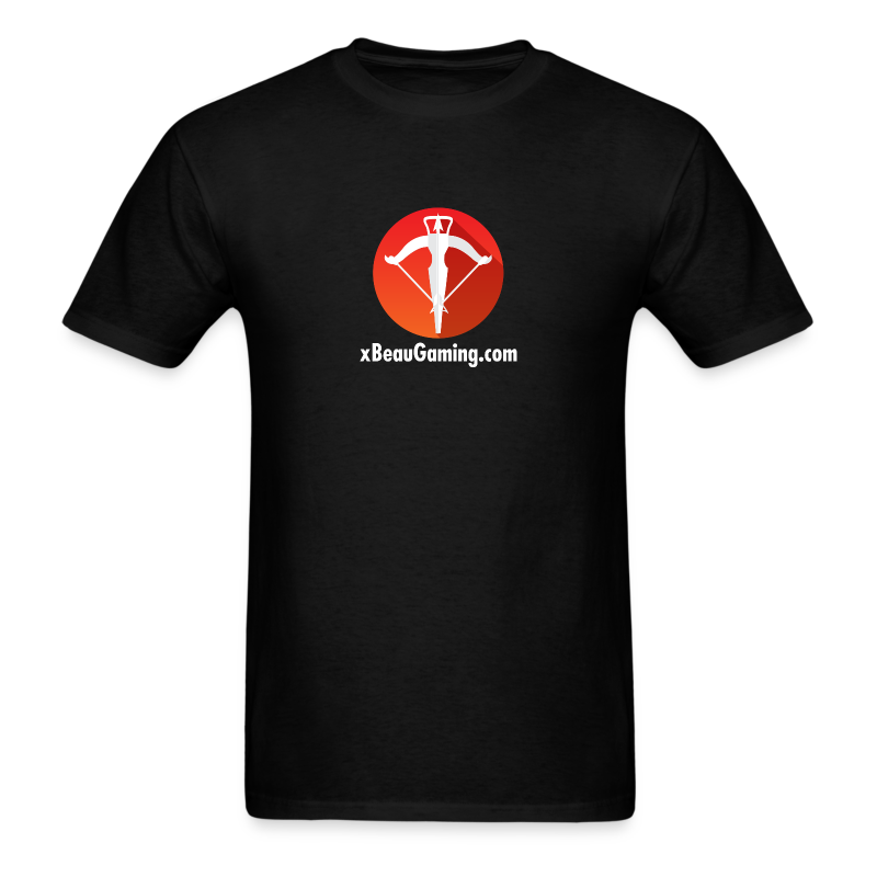 xBeauGaming Logo with URL - Men's T-Shirt