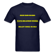 T-Shirts ~ Men's T-Shirt ~ Brady Hoke Sucks