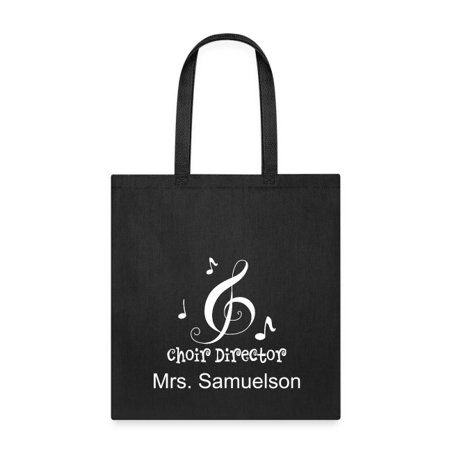Choir Director Personalized Tote Bag Tote Bag