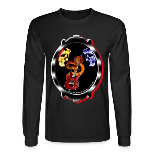 Guitar Mirror - long sleeve - Men's Long Sleeve T-Shirt