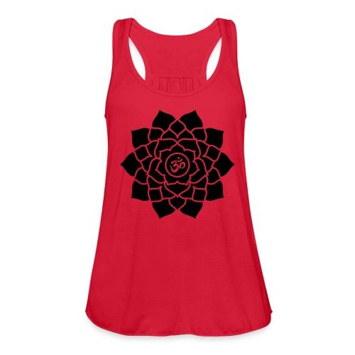 Sahasrara or Crown Chakra symbol Tank Top - Women's Flowy Tank Top by Bella