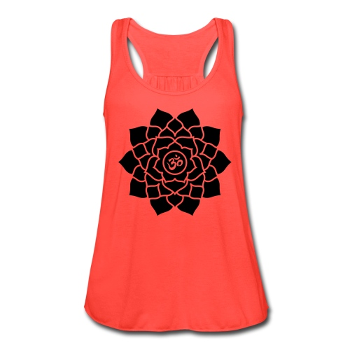 Sahasrara or Crown Chakra symbol Tank Top - Women's Flowy Tank Top by Bella