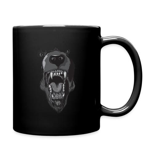 Death is just a breath away coffee mug  - Full Color Mug