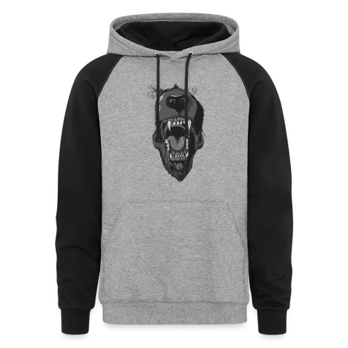 Death is just a breath away alt pullover  - Colorblock Hoodie