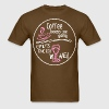 Coffee Keeps Me Going Until Its Time For Wine - Men's T-Shirt