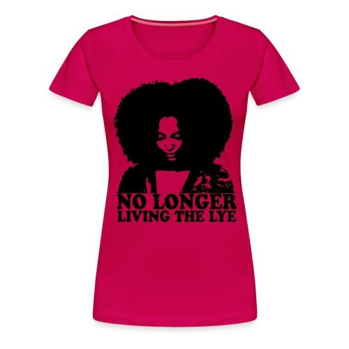 No Longer Plus Size - Women's Premium T-Shirt