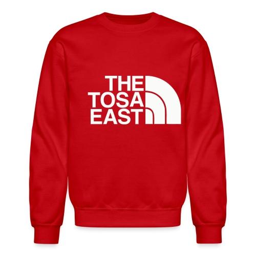 The Tosa East Sweatshirt (Red) - Crewneck Sweatshirt
