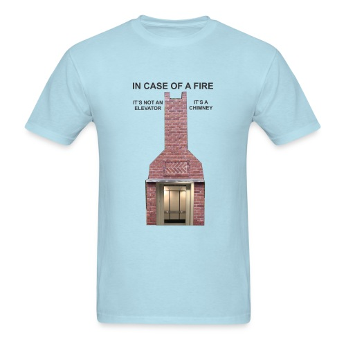 ElevatorChimney - Men's T-Shirt