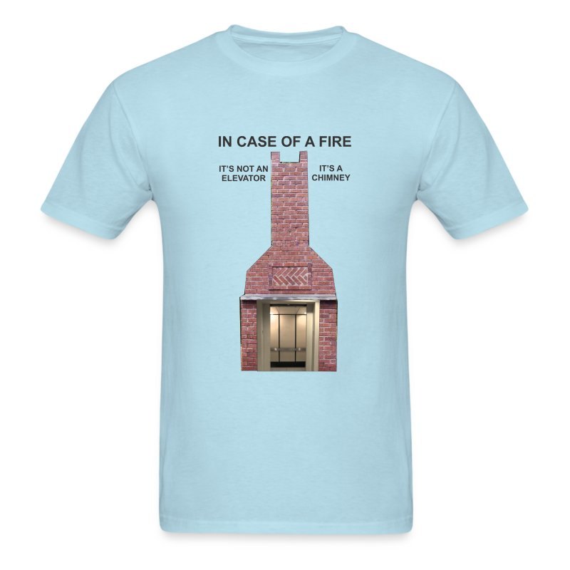 ElevatorChimney - Men's T-Shirt