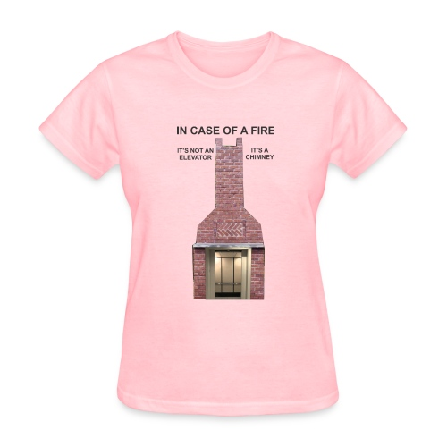 ElevatorChimney f - Women's T-Shirt