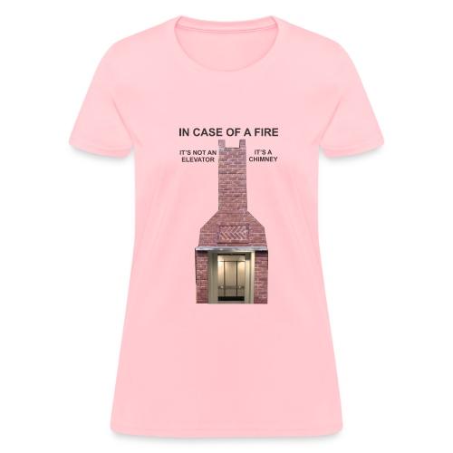 ElevatorChimney f - Women's T-Shirt