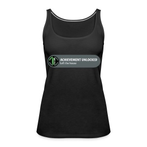 Achievement Unlocked: Left The House - Women's Premium Tank Top