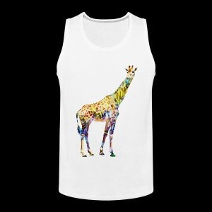 Giraffe Mens Tank Top - Men's Premium Tank