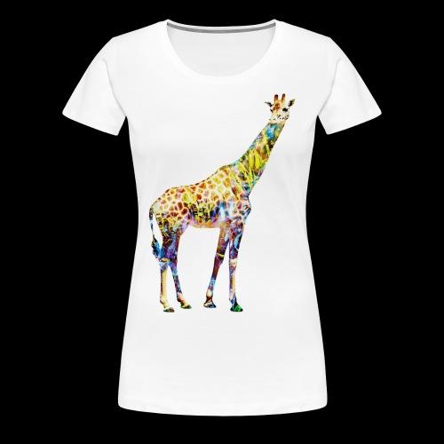 Giraffe Mens T-Shirt - Women's Premium T-Shirt
