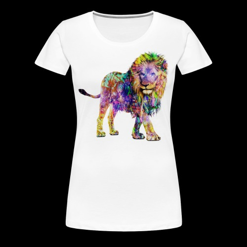 Lion Womans Shirt - Women's Premium T-Shirt